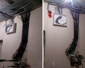 Проводка для частного дома