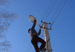 Монтаж уличного освещения (фото 1)