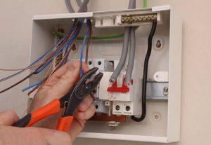 Подключение электрощитка