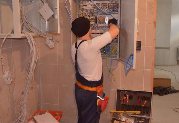 Замена проводки в кирпичном доме