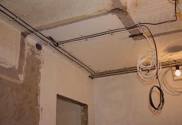 Электромонтажные работы в ванной комнате