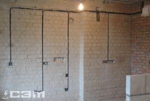 Монтаж проводки в доме (фото 12)