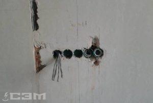 Установка розеток и выключателей (фото 5)