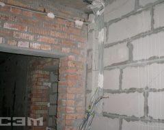 Монтаж проводки в доме (фото 8)