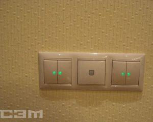 Установка выключателей (фото 1)