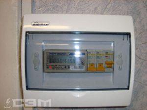 Монтаж электросчетчиков (фото 2)