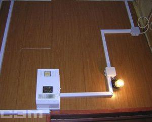 Монтаж электропроводки (фото 1)