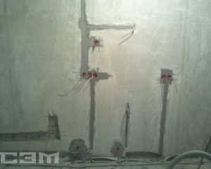 Монтаж проводки в доме (фото 3)