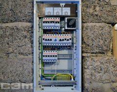 Монтаж автомата в электрощитке (фото 1)