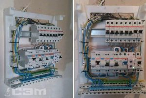 Замена пробок на автоматы (фото 1)
