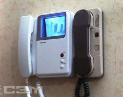 Установка видеодомофона (фото 10)