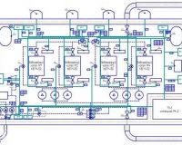 План электроснабжения в помещении (фото 2)