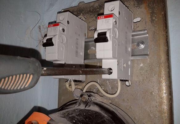 Ремонт электрощитков