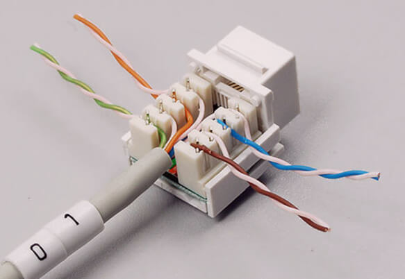 Разводка интернет кабеля