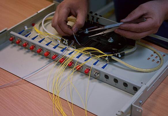 Прокладка телефонного кабеля
