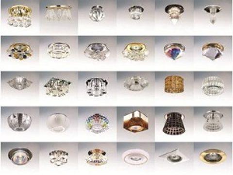 Разновидности светильников для натяжных потолков