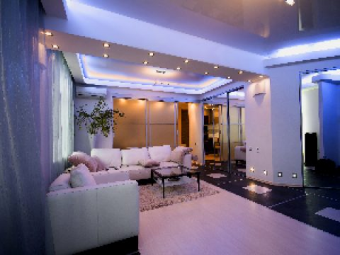 Правильная подсветка комнат